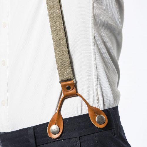 Sage Mens' Suspenders