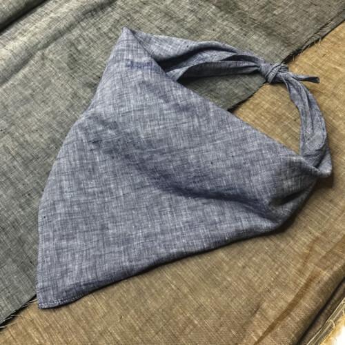 blue linen bandana_8