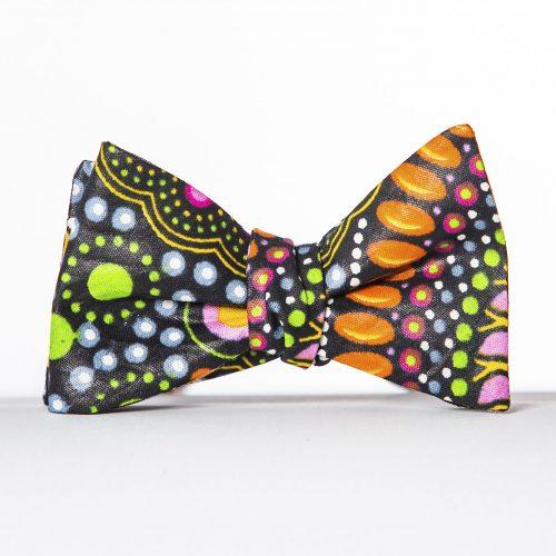 Mandala Butterfly Bow Tie