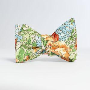 Farmette Floral Butterfly Bow Tie