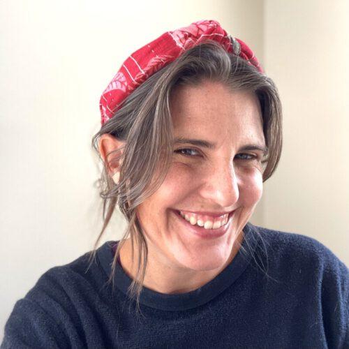 Bright Red Headband