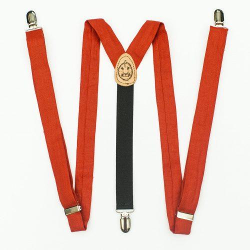 """Poppy 1"""" Clip-On Suspenders"""