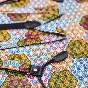 """Makeba 1"""" Button On Suspenders - Fun Skinny Suspenders"""
