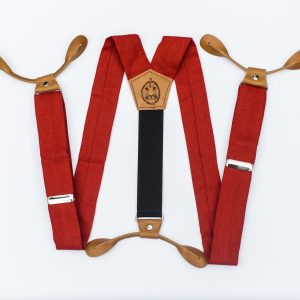 "Poppy 1.5"" Button-On Suspenders"
