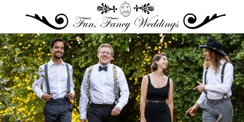 fun fancy bowties suspenders weddings durian